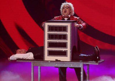 Niels Harder Semi-Finals Britains Got Talent Spike Illusion