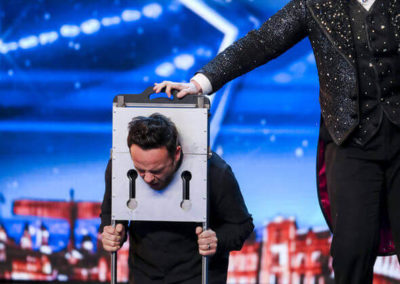 Niels Harder and Ant McPartlin on Britain´s Got Talent