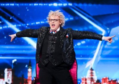 Niels Harder in Britain's Got Talent