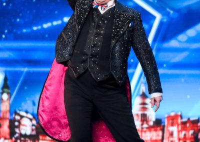 Niels Harder in Britains Got Talent
