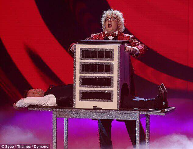 Niels Harder Semi-Finals Britains Got Talent Spike Illusion 4