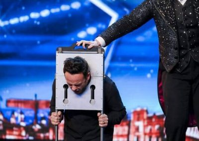 Niels Harder and Ant McPartlin on Britain´s Got Talent 2