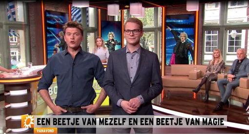 Niels Harder Crazy Harder in RTL Boulevard